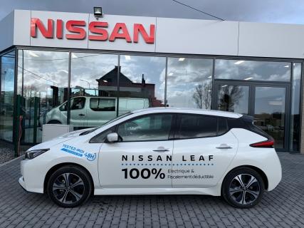 véhicule de Direction : Nissan Leaf N-Connecta 62kwh + pack LED