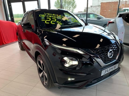 Nissan Juke 1.0 Dig-T 117ch N-Connecta + Pack Sound&Ride + Boite auto DCT + jantes 19″ + Pack Feel GOOD
